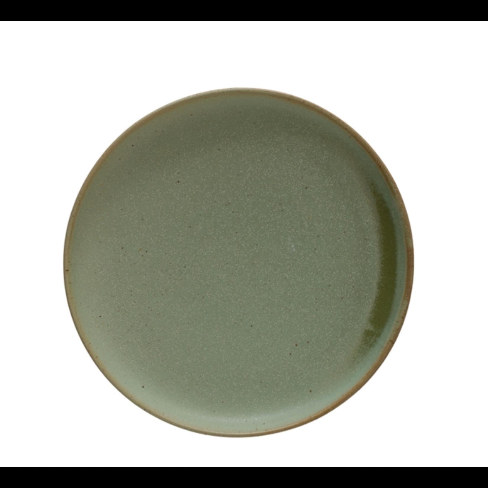 Celadon Stoneware Plate