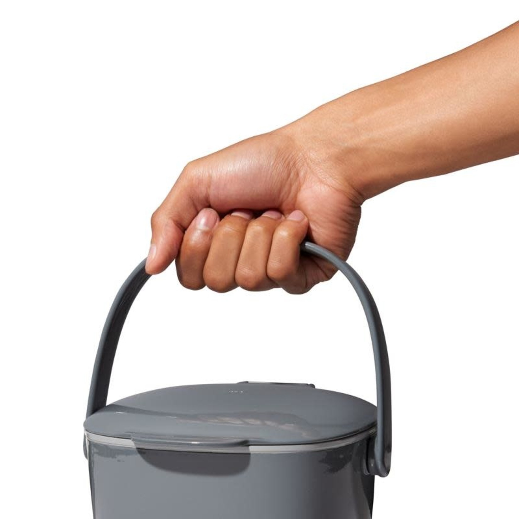 Gray Compost Bin