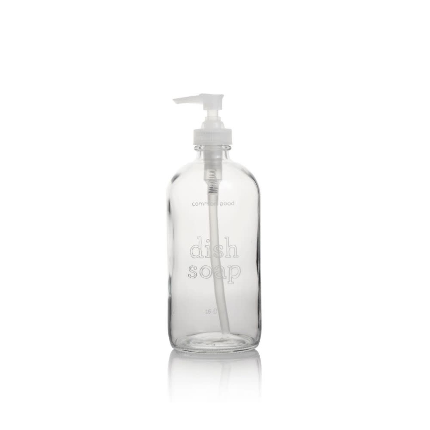 16oz Glass Bottle, Dish Soap