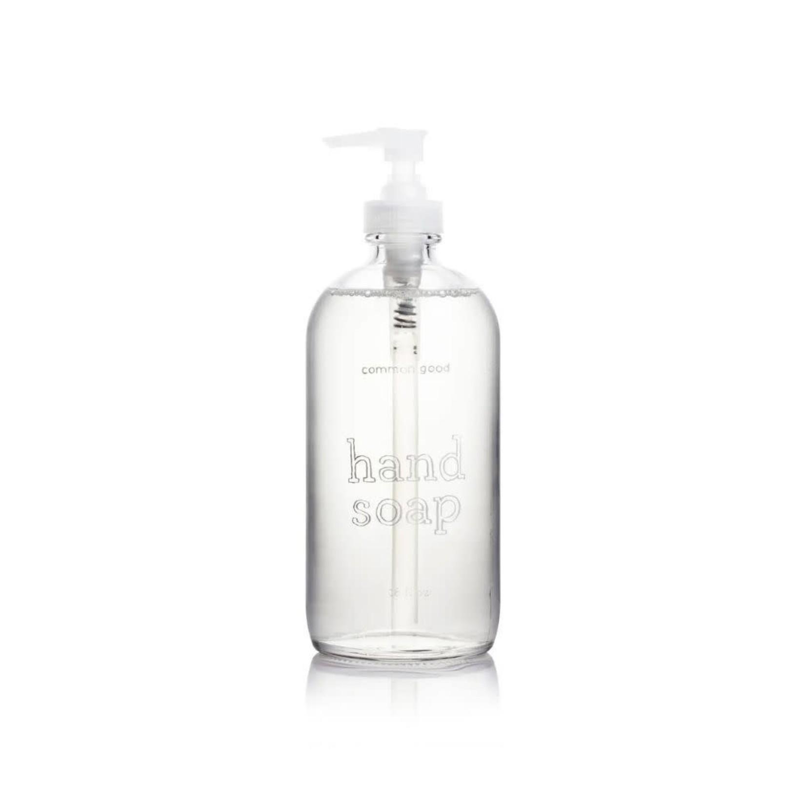16oz Glass Bottle, Hand Soap