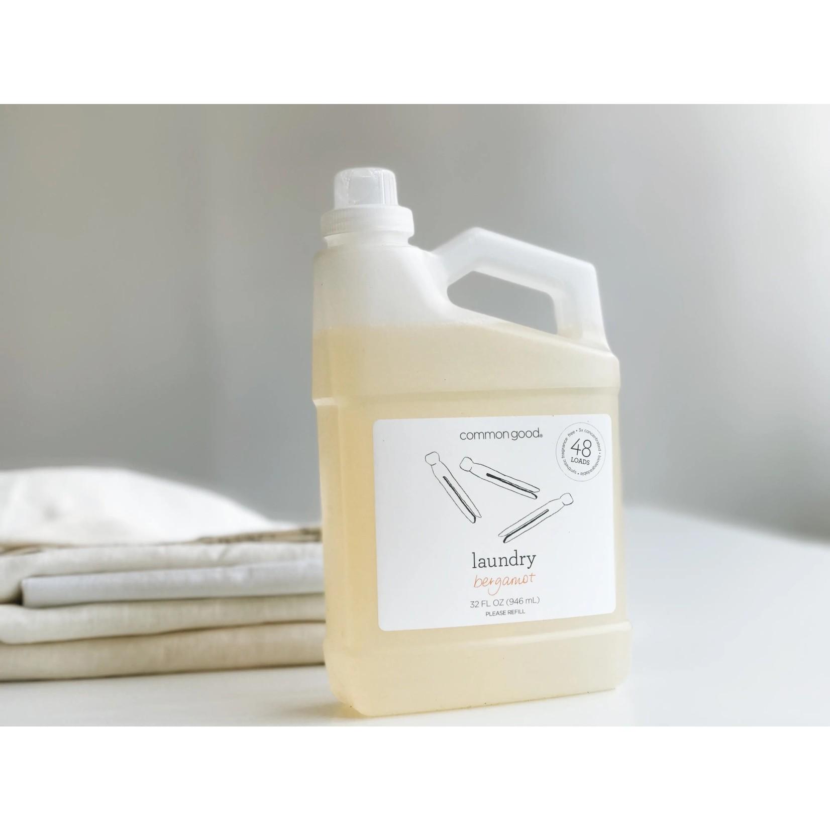 Bergamot Laundry Detergent 32 oz