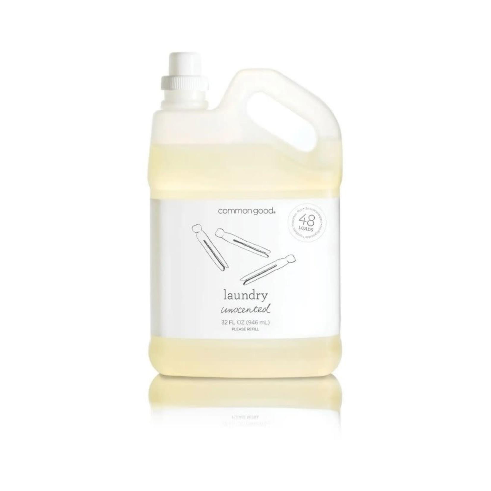 Unscented Laundry Detergent 32 oz