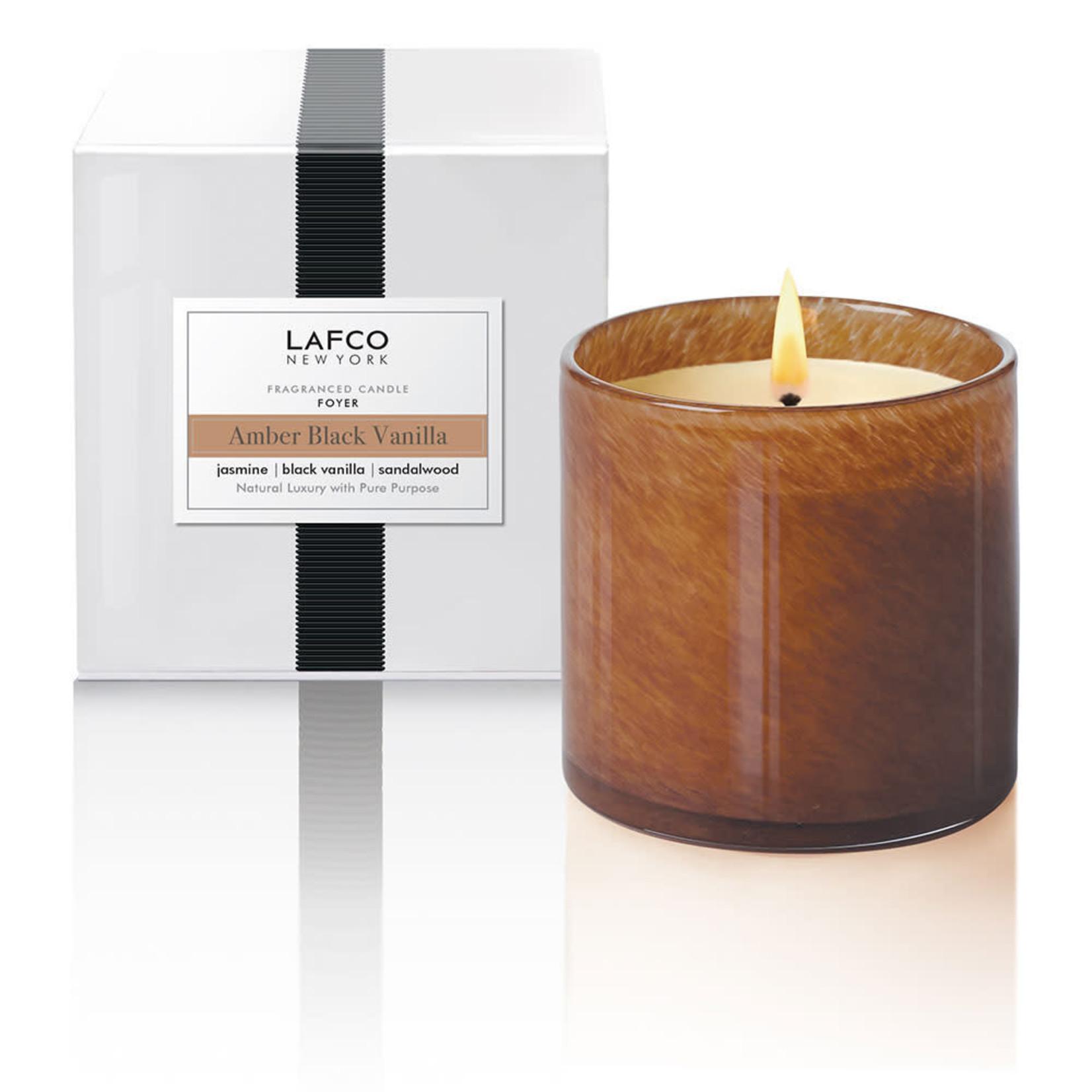Lafco Amber Black Vanilla Signature Candle
