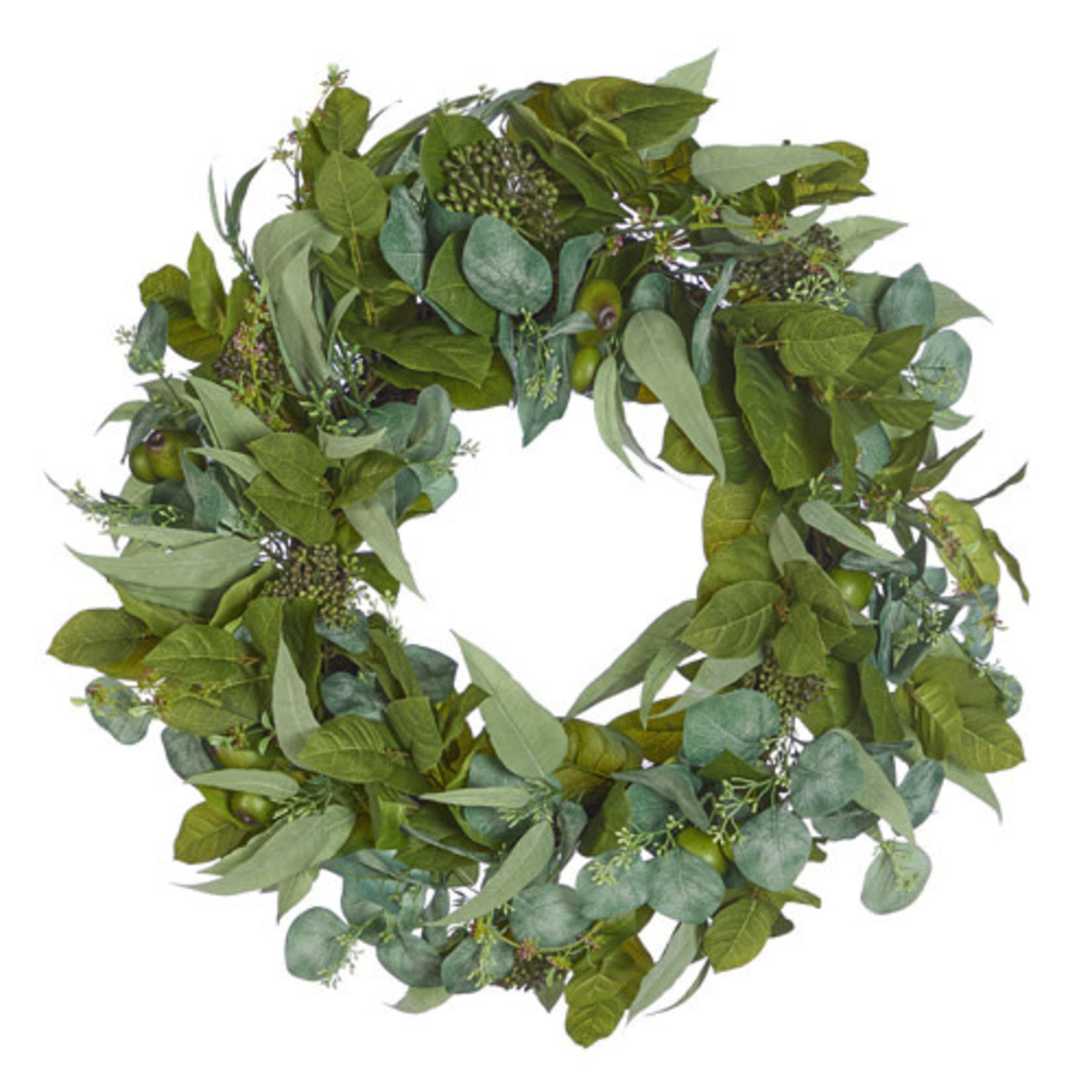 Eucalyptus Spring Wreath