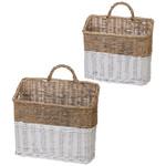 Wicker Wall Basket (Multiple Sizes)