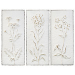 Wildflower Embossed Panels (Multiple Options)