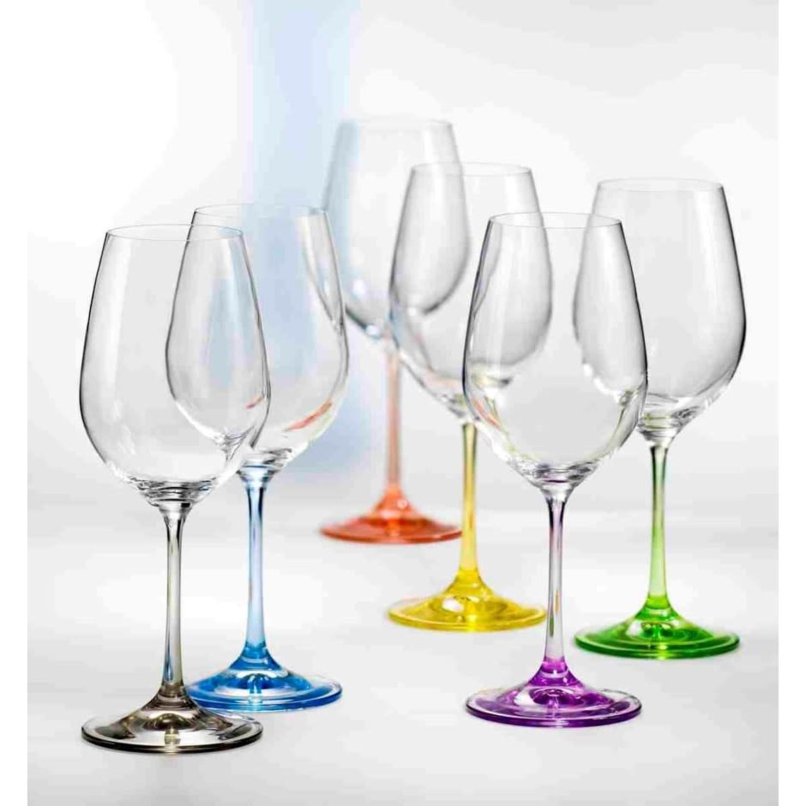Rainbow Wine 350ml Set of 6