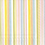Paper Napkins Spring Stripes Cocktail