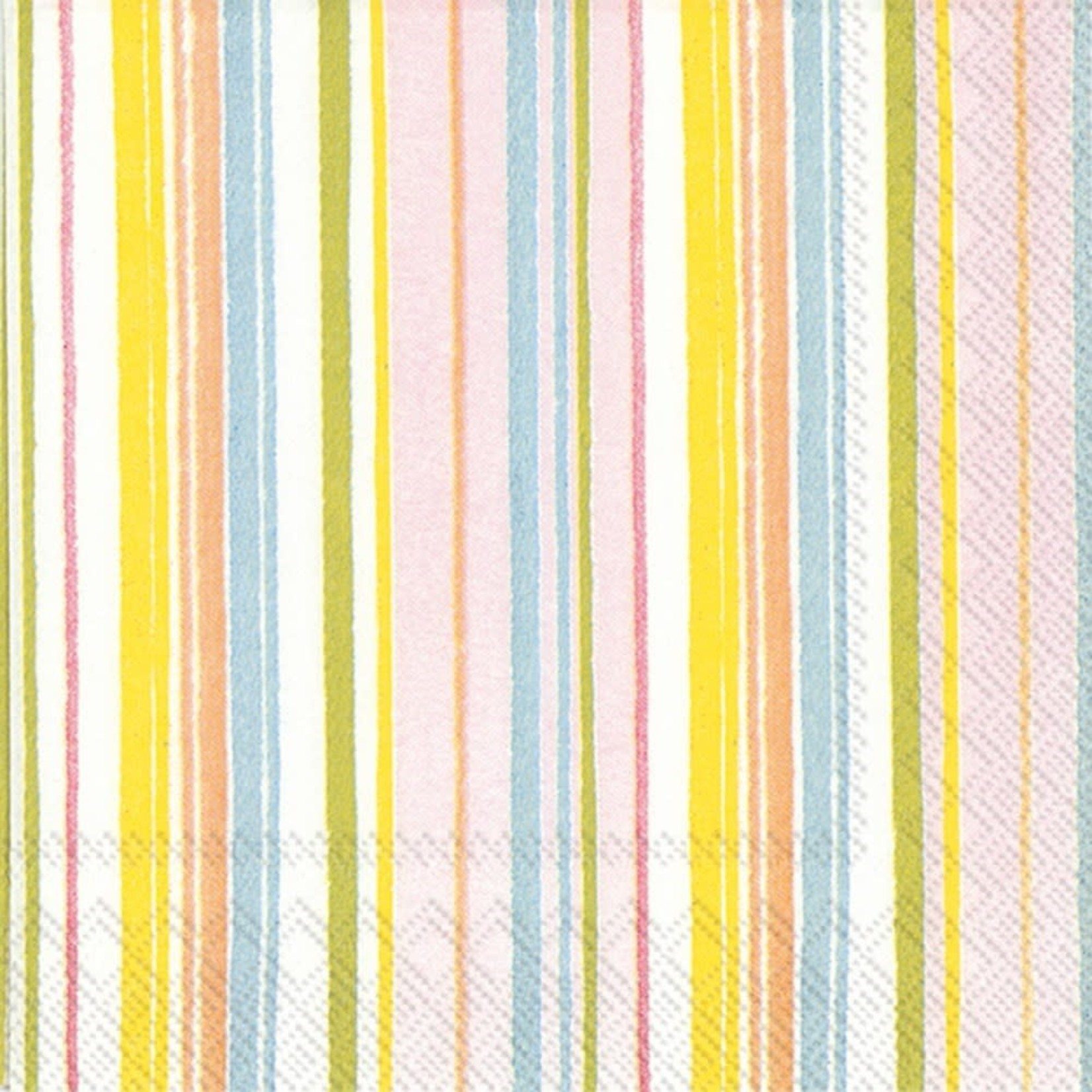 Paper Napkins Spring Stripes Cocktail