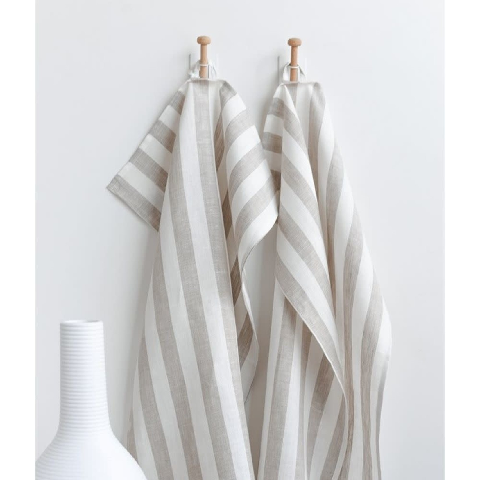 Sandy Tea Towel With with Beige