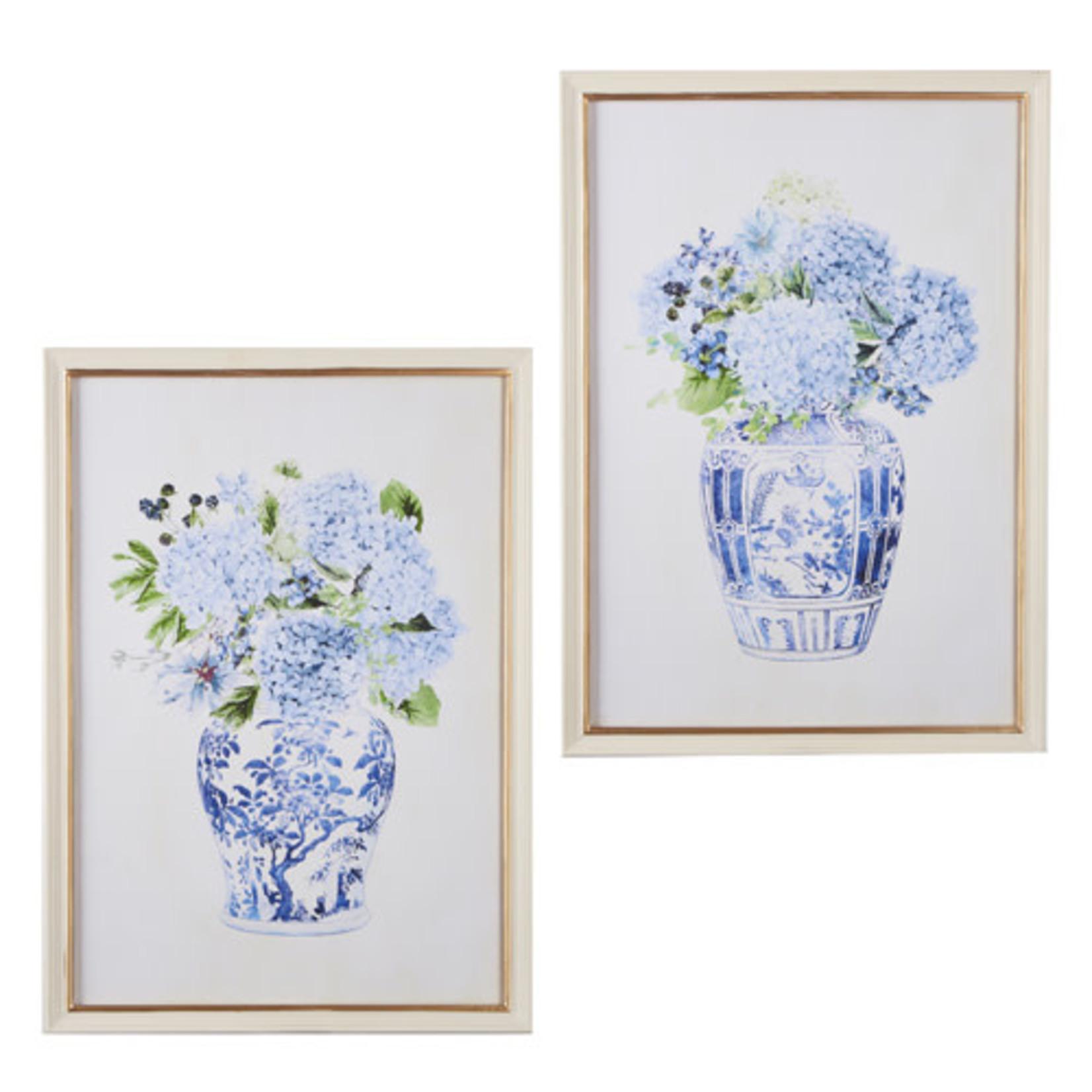 Hydrangea in Vase Framed Print
