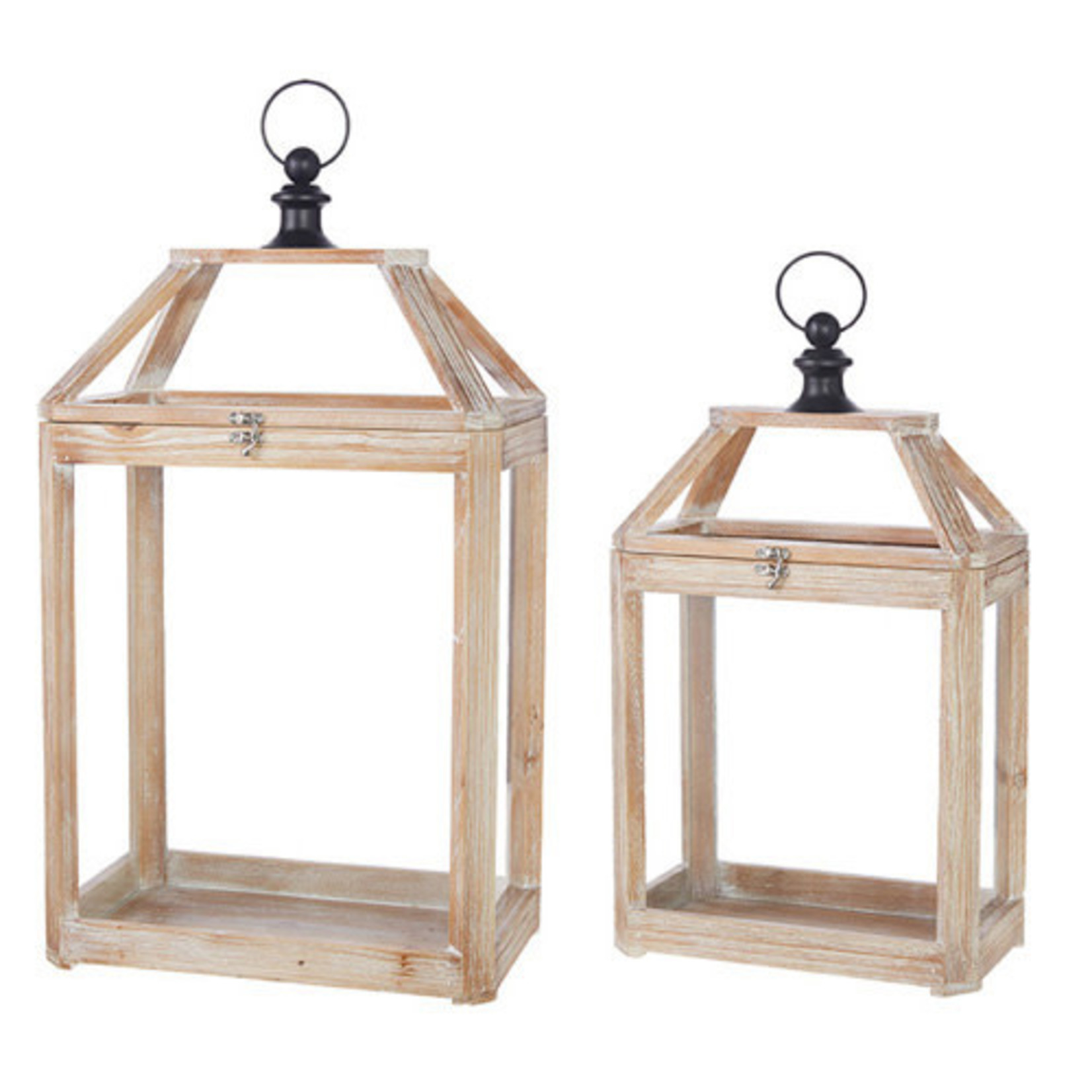Light Wood Lantern