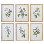 Purple Floral Framed Prints