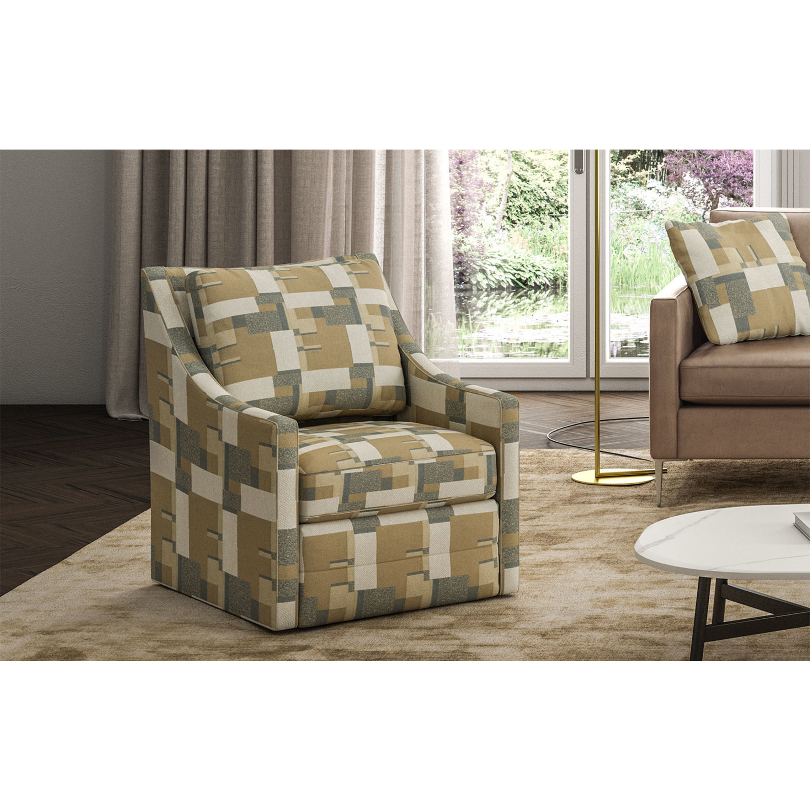 Brentwood Classics Jeffrey Swivel Chair