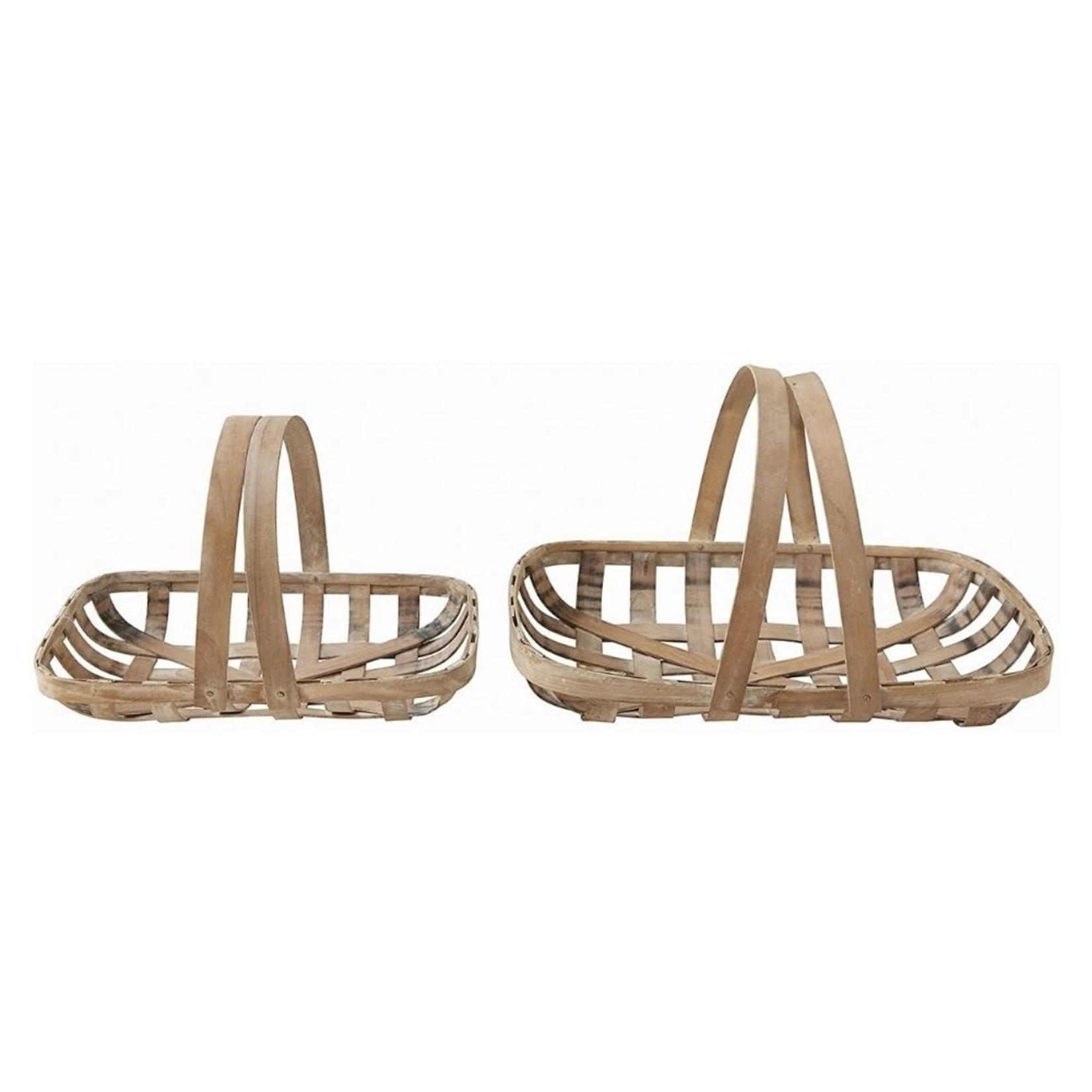 Wooden Flower Baskets