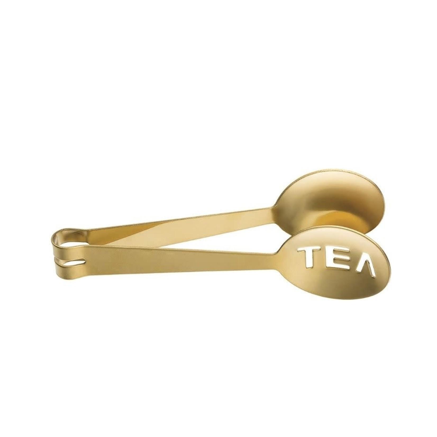 Gold Tea Tongs