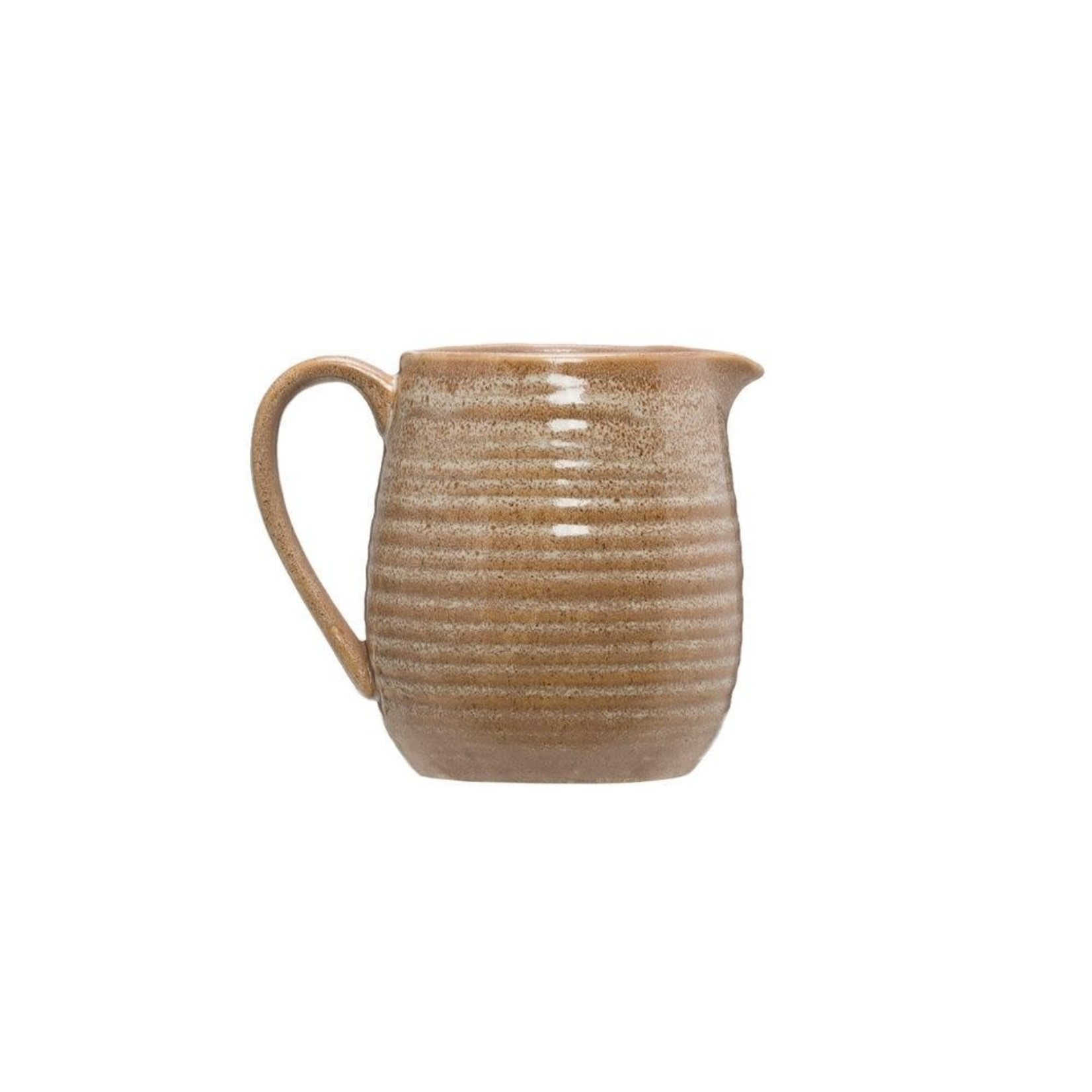Putty Stoneware Pitcher