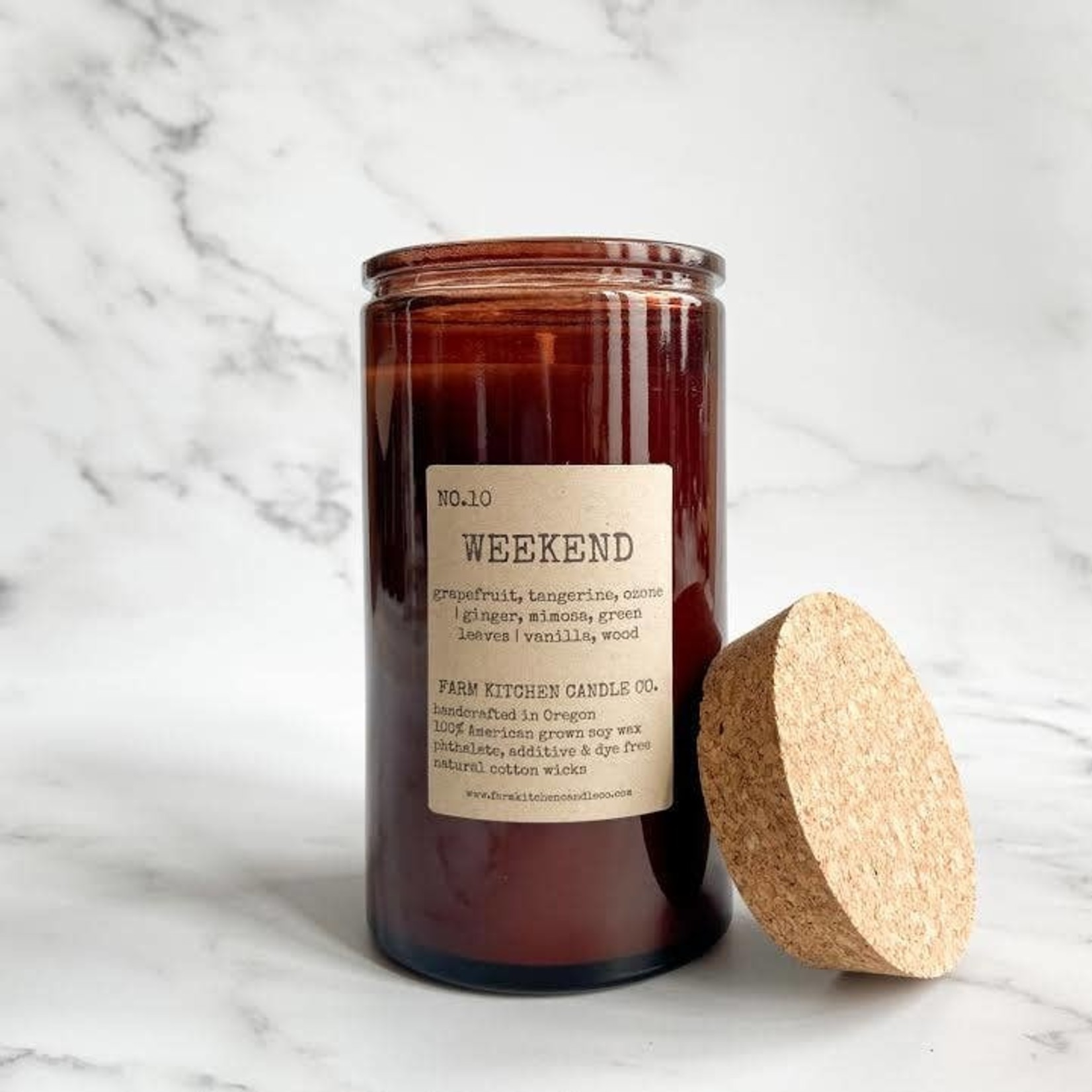 Weekend  Soy Candle Limited Edition