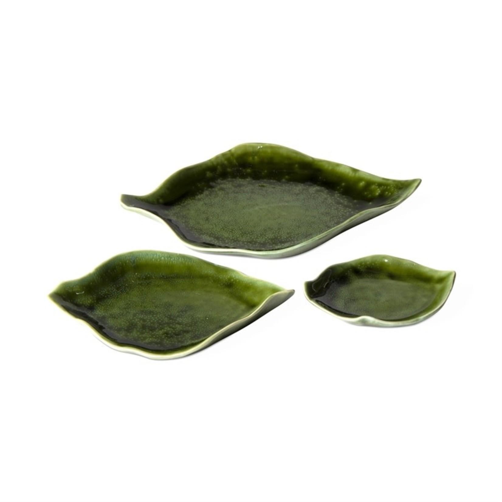 Leaf Dishes Set of 3