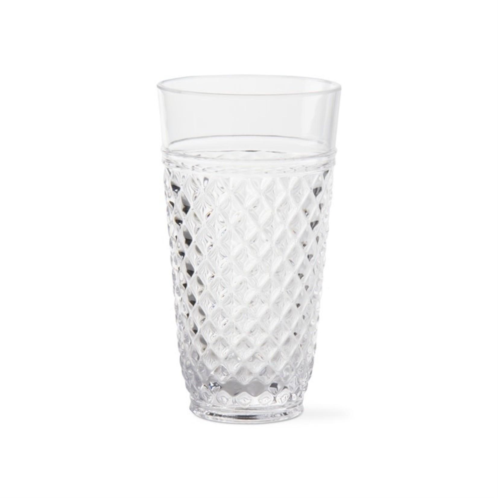 Villa Acrylic Glasses Clear Tumbler