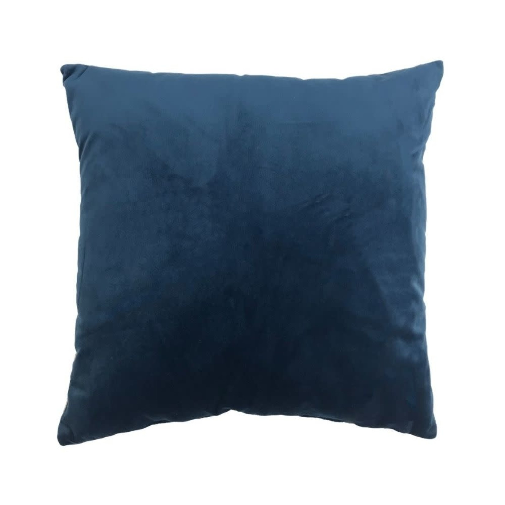 Blue Velvet Pillow