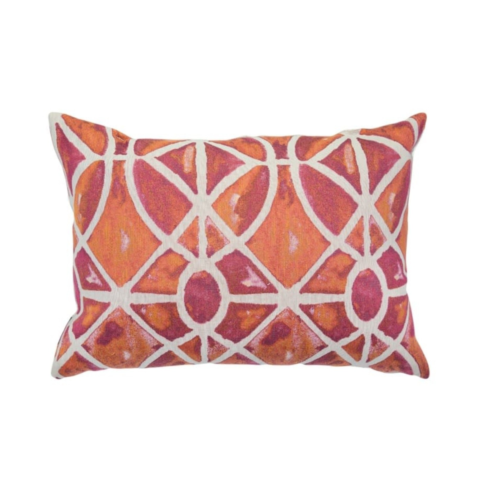 Valdese Kirshy-Poppy Pillow