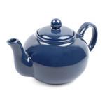Blue Stoneware Teapot