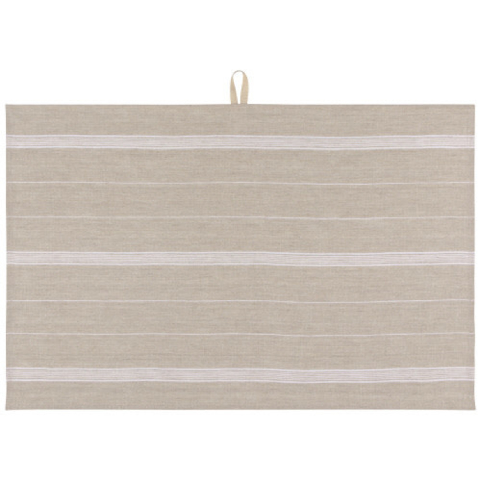Maison Stripe Tea Towel in White