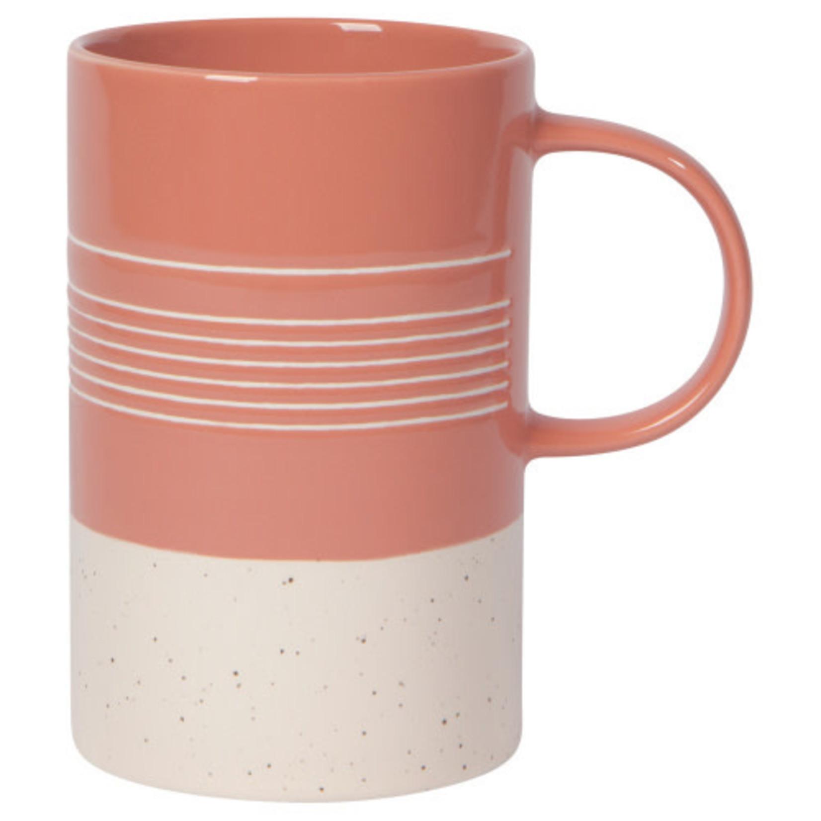 Clay Etched Mug
