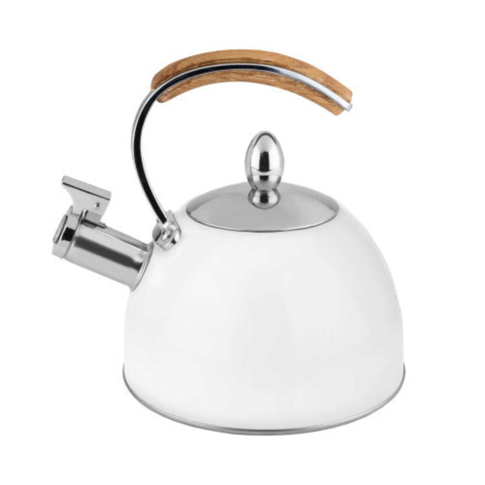 Presley White Tea Kettle
