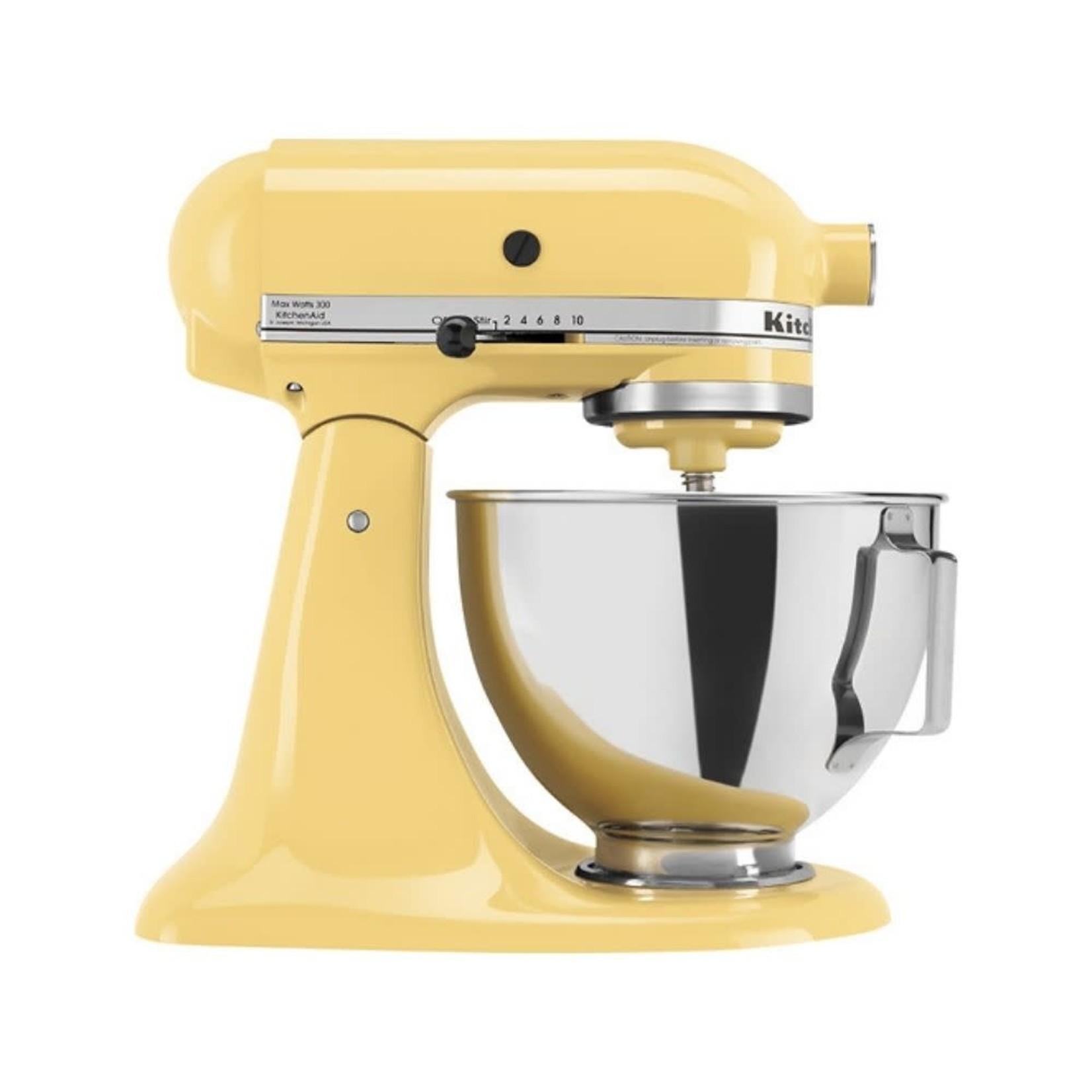 Kitchen Aid Artisan Series 5 Qt Tilt Head Stand Mixer Majestic Yellow