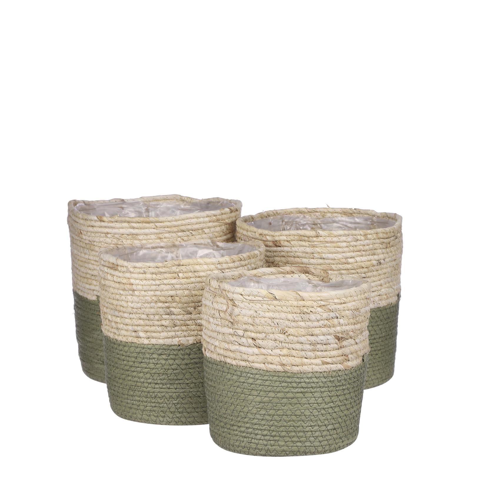 Green Rachel Baskets (Multiple Sizes)
