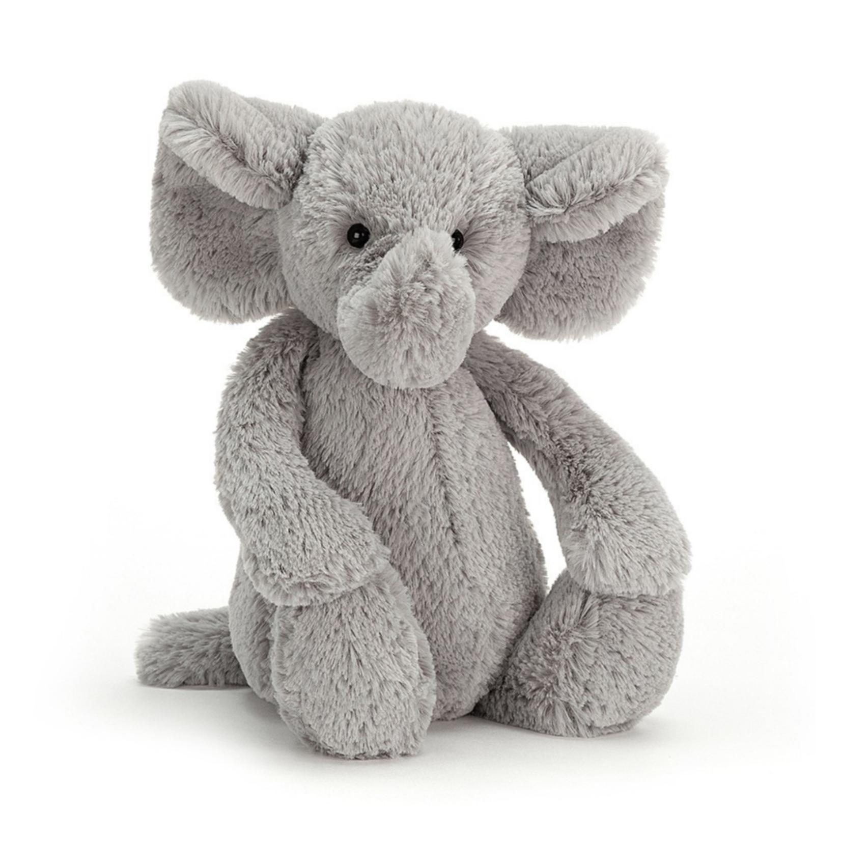 Bashful Silver Elephant