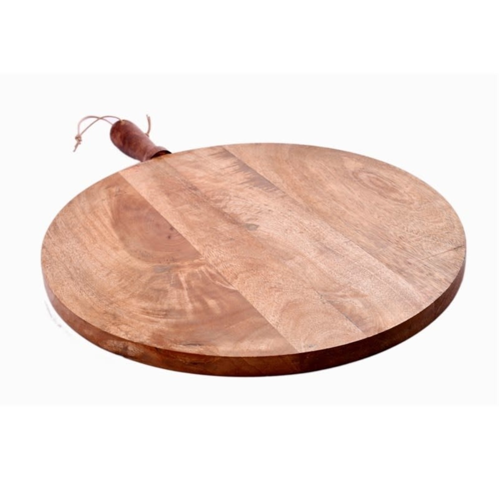 Medium Round Handled Serving Board