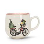 Holiday Bicycle Ball Mug