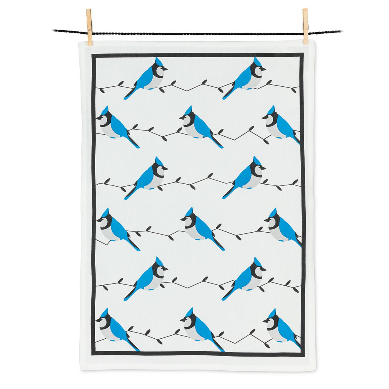 Allover Blue Jays Tea Towel