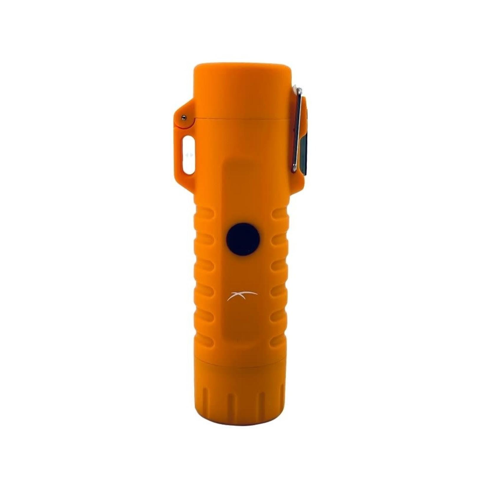 The Survival Sizzle Lighter in Orange