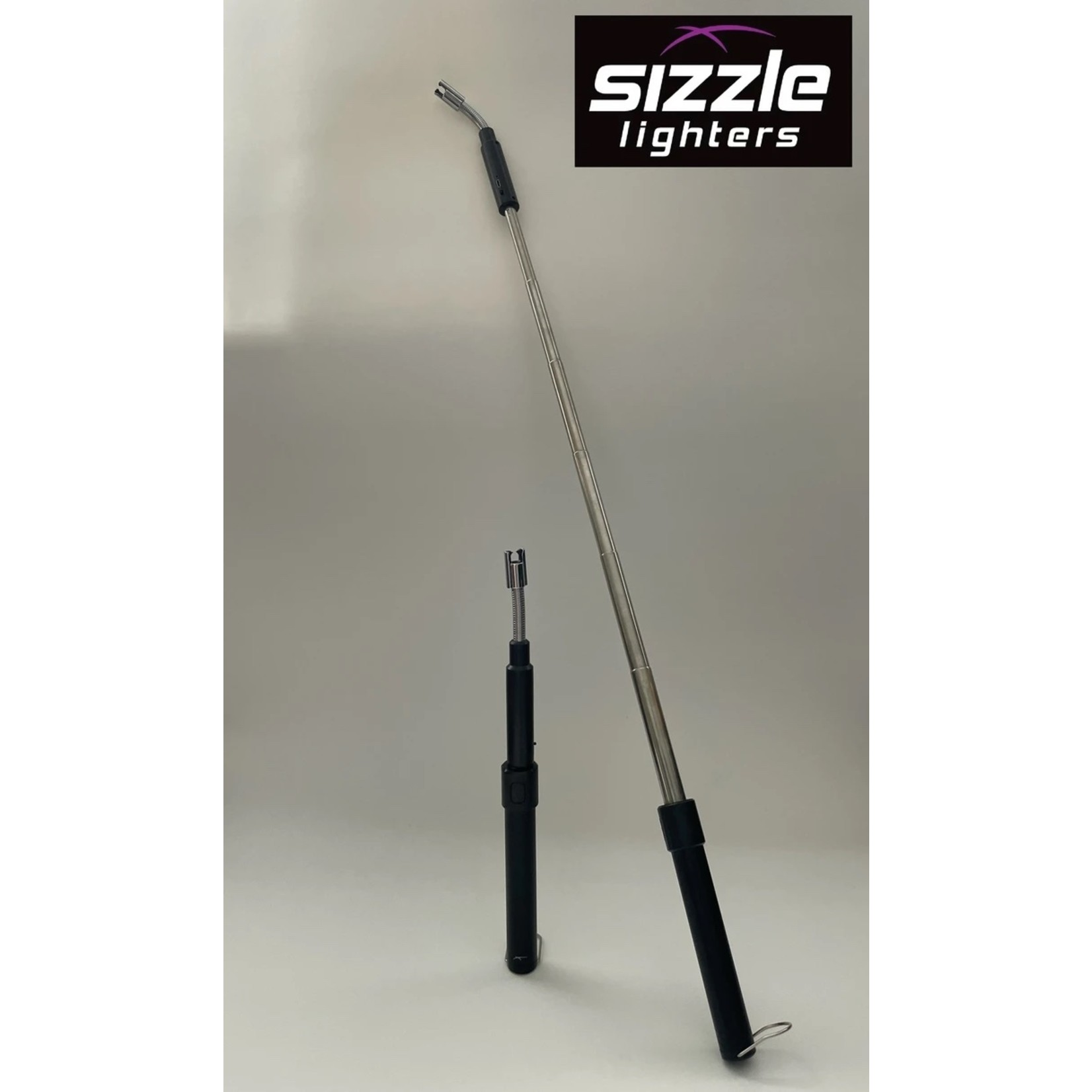 The Extender Sizzle Lighter in Silver