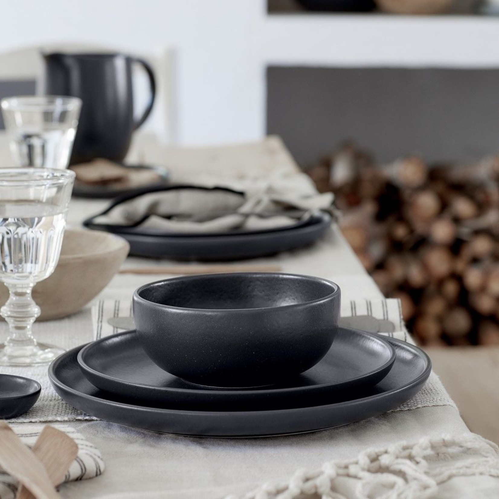 Pacifica Seed Grey 5pc place setting