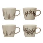 Winter Scene Mugs (Multiple Patterns)