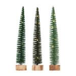Skinny Green Bottle Brush Tree (Multiple Colours)