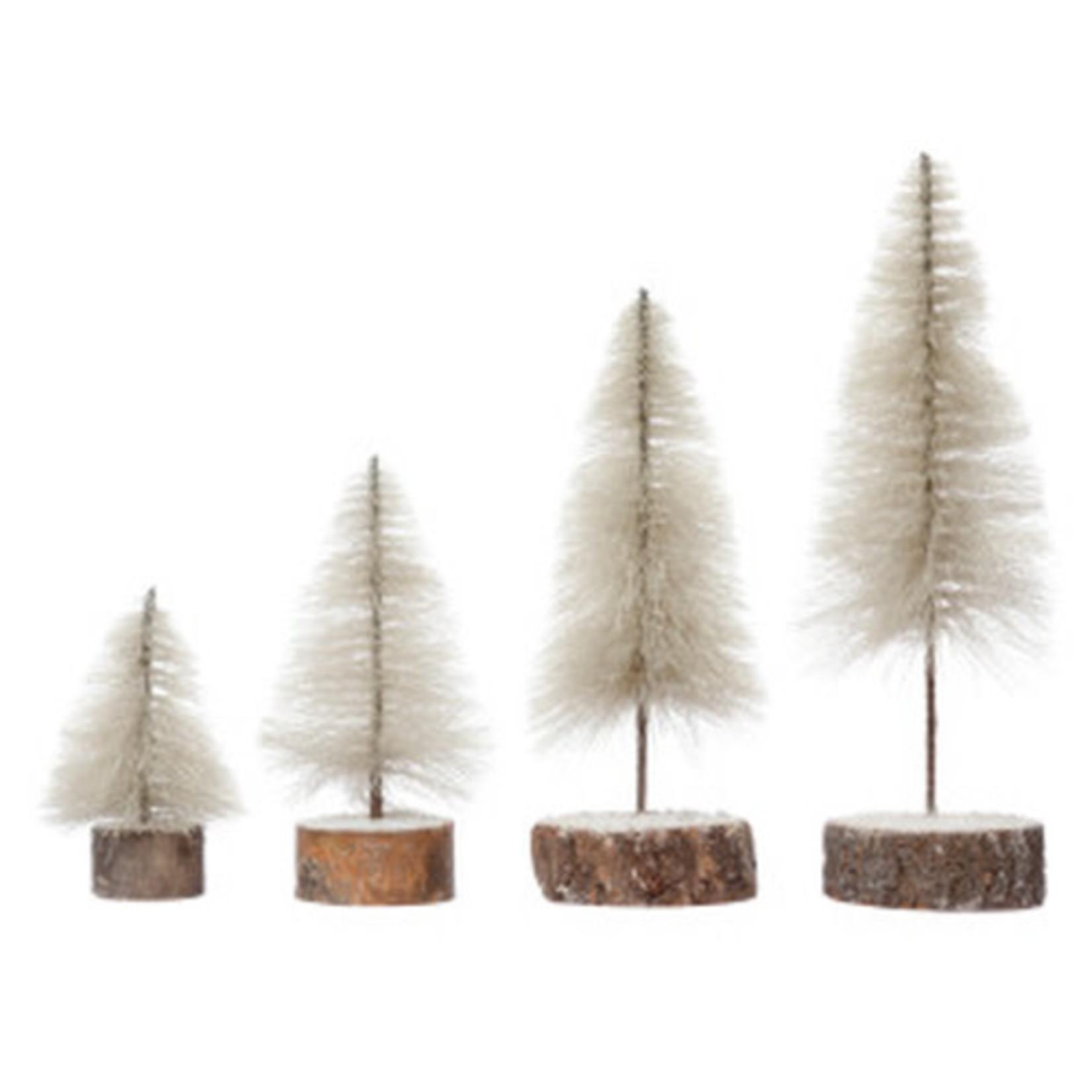 Cream Fabric String Trees (Multiple Sizes)