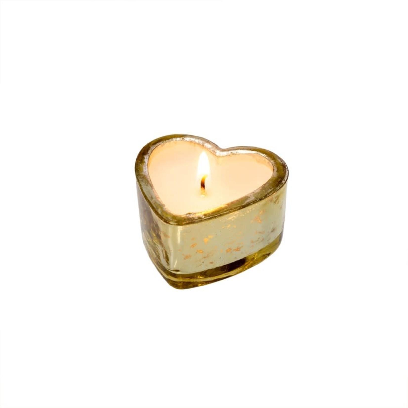 Gold Sweetheart Candle Orange Blossom