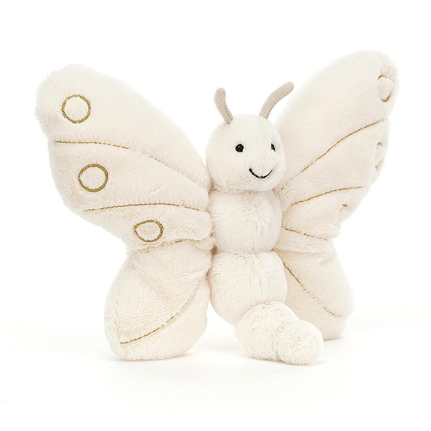 Glistening Winter Butterfly