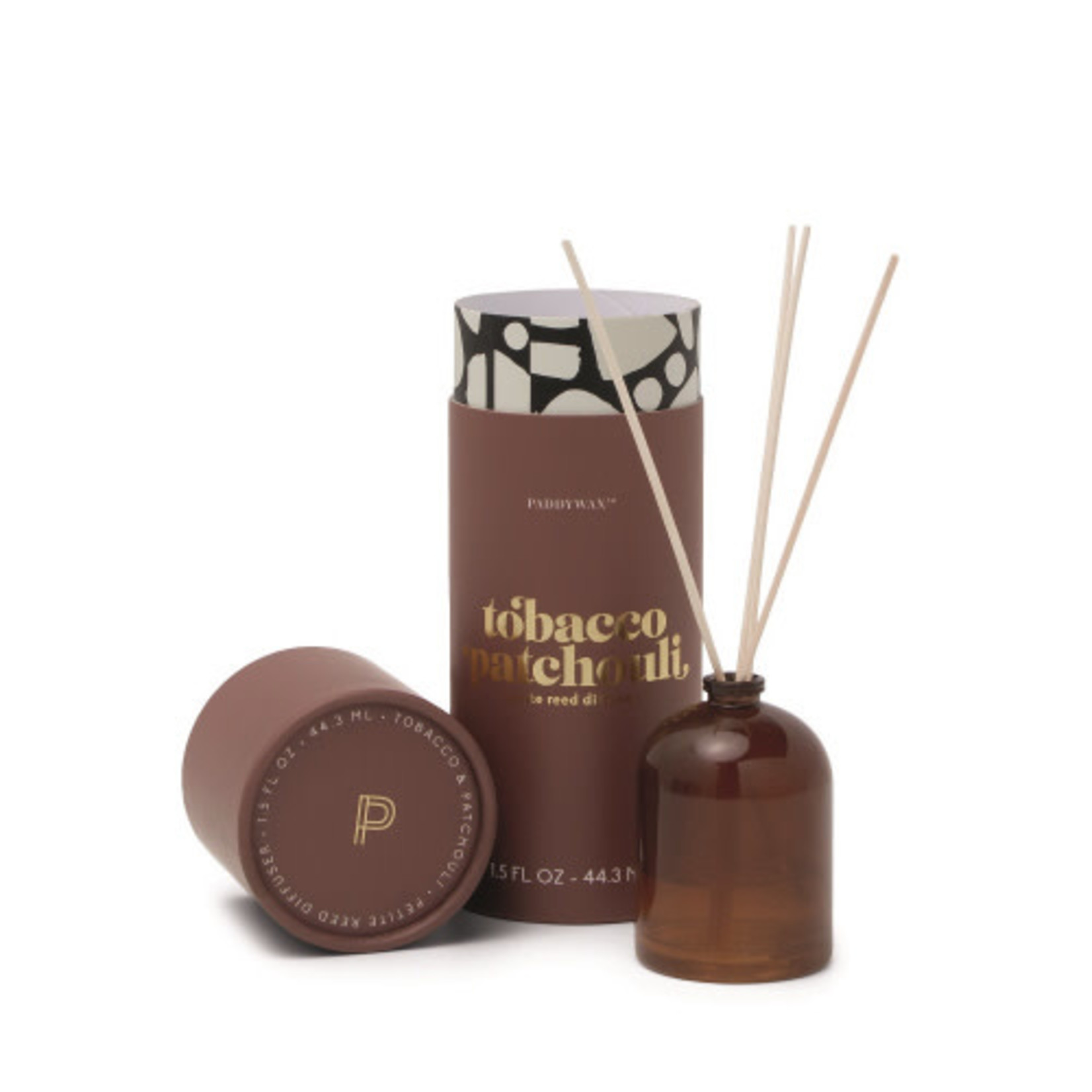 Petite Reed Diffuser, Tobacco & Patchouli