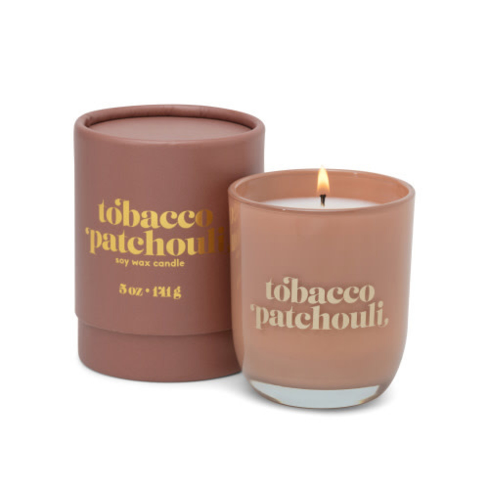 Petite Candle, Tobacco & Patchouli