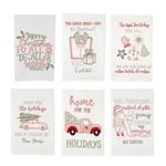 Embellished Holiday Dish Towels