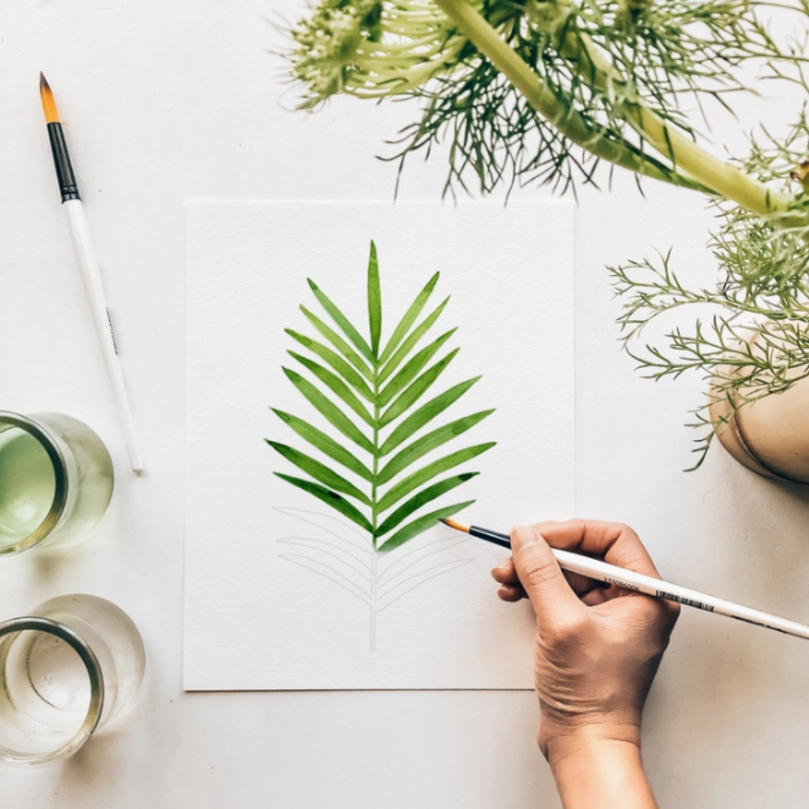 Botanical Watercolour Kit