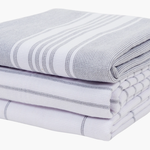 Monaco Dual Purpose Terry Towel in Frost Fray