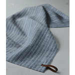 Tea Towels Denim with White Stripes